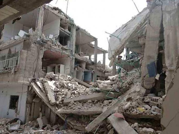 Four Killed, Several Trapped In Fresh Building Collapse