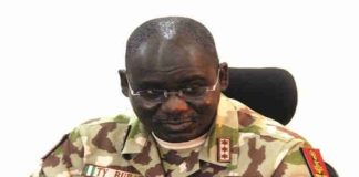"""Buratai """"Succumbs To Dialogue"""" With Bandits After Freeing Repentant Boko Haram Members"""