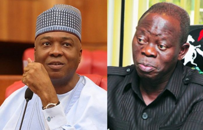 APC, Saraki and Oshiomhole