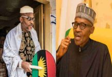 Biafra: Nnamdi Kanu Roasts Buhari Over 'Fake WAEC Certificate'