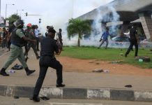 What Security Operatives Did To #RevolutionNow Protesters In Lagos