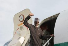 Buhari Jets Out On Private Visit