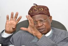 Lai Mohammed Exposes 476 Websites Against Buhari And His Administration