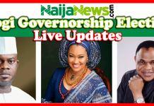 2019 Kogi State Governorship Election: Live Update