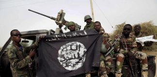 Islamic State Boko Haram Fighters