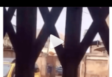 Nigerian Mother Reacts After Nabbing Daughter Making Out With A Man (Video)